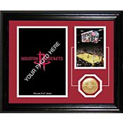 The Highland Mint Houston Rockets Desktop Photo Mint
