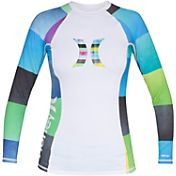 Hurley Women's One & Only Long Sleeve Rash Guard