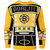 Klew Men's Boston Bruins Light-Up Ugly Sweater