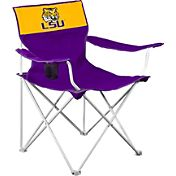 Logo LSU Tigers Team-Colored Canvas Chair