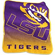 LSU Tigers Raschel Throw