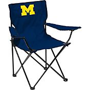 Michigan Wolverines Team-Colored Canvas Chair