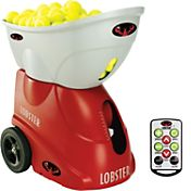 Lobster Sports elite three Tennis Ball Machine w/ elite10 Remote Control