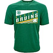 Levelwear Men's St. Patty's Day Boston Bruins Green T-Shirt
