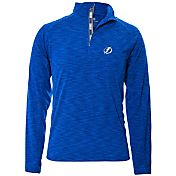 Levelwear Men's Tampa Bay Lightning Mobility Royal Quarter-Zip Shirt