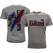 Levelwear Men's New York Rangers Henrik Lundqvist #30 Grey Spectrum T-Shirt