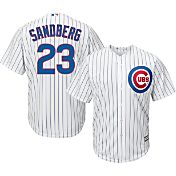 Majestic Men's Replica Chicago Cubs Ryne Sandberg #23 Cool Base Home White Jersey