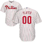 Majestic Men's Full Roster Cool Base Replica Philadelphia Phillies Home White Jersey