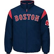 Majestic Men's Boston Red Sox Therma Base Navy On-Field Premier Jacket