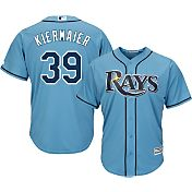 Majestic Men's Replica Tampa Bay Rays Kevin Kiermaier #39 Cool Base Alternate Light Blue Jersey