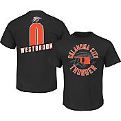 Majestic Men's Oklahoma City Thunder Russell Westbrook #0 Black T-Shirt