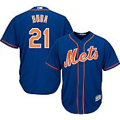 Majestic Youth Replica New York Mets Lucas Duda #21 Cool Base Alternate Royal Jersey