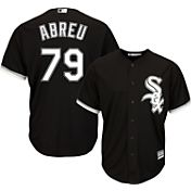 Majestic Youth Replica Chicago White Sox Jose Abreu #79 Cool Base Alternate Black Jersey