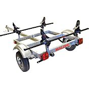 Malone XtraLight SaddleUp 1-Kayak Trailer Package