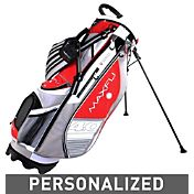 Maxfli U/Series 4.0 Personalized Stand Bag – Red/Grey