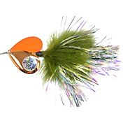 Musky Mayhem Electric Bunny Marabou Spinner