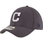 New Era Men's Cleveland Indians 39Thirty Tone Tech Grey Flex Hat
