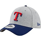 New Era Men's Texas Rangers 39Thirty Change Up Redux Grey Flex Hat