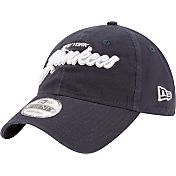 New Era Men's New York Yankees 9Twenty Script Navy Adjustable Hat