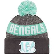 New Era Men's Cincinnati Bengals Sport Clear Mint Knit Beanie