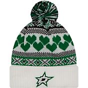 New Era Women's Dallas Stars Winter Cutie White Knit Hat
