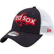 New Era Youth Boston Red Sox 9Twenty Pop Stitcher Navy/White Adjustable Hat