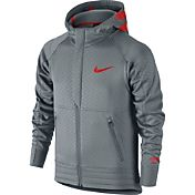 Nike Boys' KD Dagger Hyper Elite Full Zip Basketball Hoodie