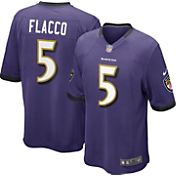 Nike Boys' Home Game Jersey Baltimore Ravens Joe Flacco #5