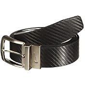 Nike Men's Carbon Fiber Matte Reversible Golf Belt