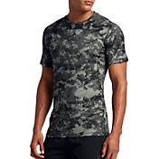 Nike Men's Pro Hypercool Digi Camo Printed Fitted T-Shirt