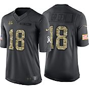 Nike Men's Home Limited Jersey Cincinnati Bengals A.J. Green #18 Salute to Service 2016