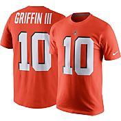 Nike Men's Cleveland Browns Robert Griffin III #10 Pride Orange T-Shirt