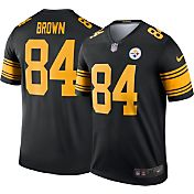 Nike Men's Color Rush 2016 Pittsburgh Steelers Antonio Brown #84 Legend Game Jersey