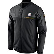 Nike Men's Pittsburgh Steelers Sideline 2016 Elite Hybrid Black Jacket