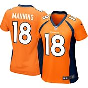 Nike Women's Home Game Jersey Denver Broncos Peyton Manning #18
