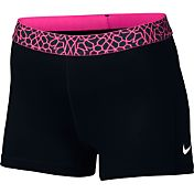 Nike Women's 3'' Pro Cool Giraffe Printed Shorts