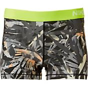 Nike Women's 3'' Pro Cool Palm Printed Shorts