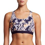 Nike Women's Pro Classic Padded Oil Glitch Printed Sports Bra