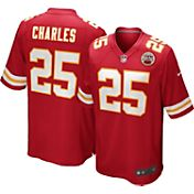 Nike Youth Home Game Jersey Kansas City Chiefs Jamaal Charles #25