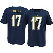 Nike Youth San Diego Chargers Philip Rivers #17 Navy T-Shirt
