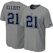 Nike Youth Dallas Cowboys Ezekiel Elliott #21 Pride Grey T-Shirt