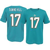 Nike Youth Miami Dolphins Ryan Tannehill #17 Aqua T-Shirt