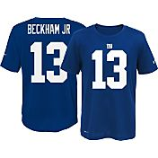 Nike Youth New York Giants Odell Beckham Jr. #13 Blue T-Shirt