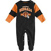 NFL Team Apparel Infant's Cincinnati Bengals Newborn Coverall