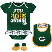 NFL Team Apparel Infant Green Bay Packers Bib & Booty Set