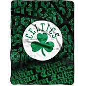 Northwest Boston Celtics Redux Micro Raschel Throw Blanket