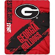 Northwest Georgia Bulldogs Painted Fleece Throw