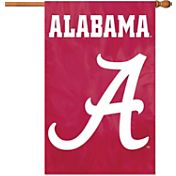 Party Animal Alabama Crimson Tide Applique Banner Flag