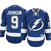 Reebok Men's Tampa Bay Lightning Tyler Johnson #9 Premier Replica Home Jersey