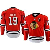 Reebok Youth Chicago Blackhawks Jonathan Toews #19 Replica Home Jersey